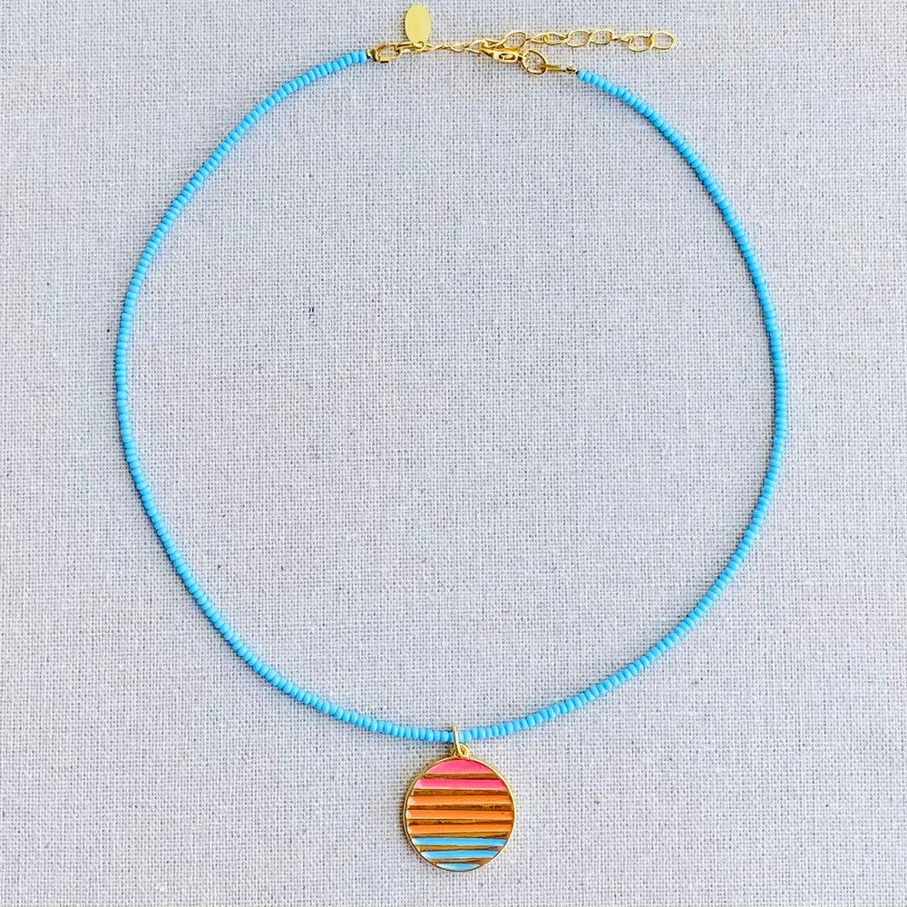MIMARSE RAINBOW NECKLACE