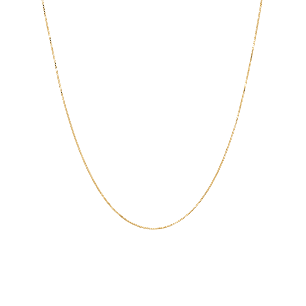 ANNA + NINA Square Plain Necklace Long