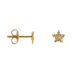 BETTY BOGAERS DOTTED STAR EARRING
