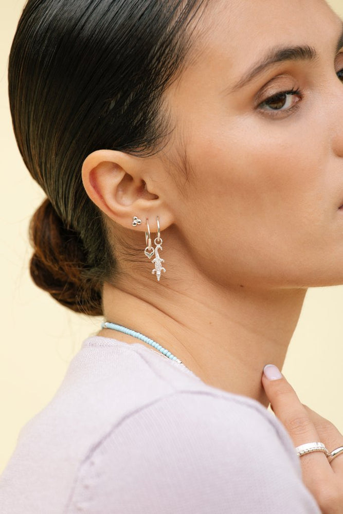 WILDTHINGS CROCODILE EARRING