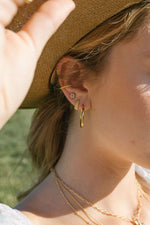 WILDTHINGS BUBBLE HOOP EARRING