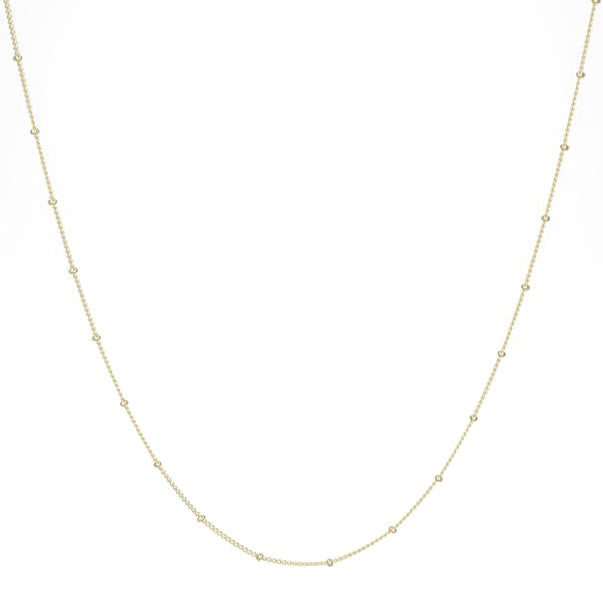 WILDTHINGS STUD CHAIN GOLD (45cm)