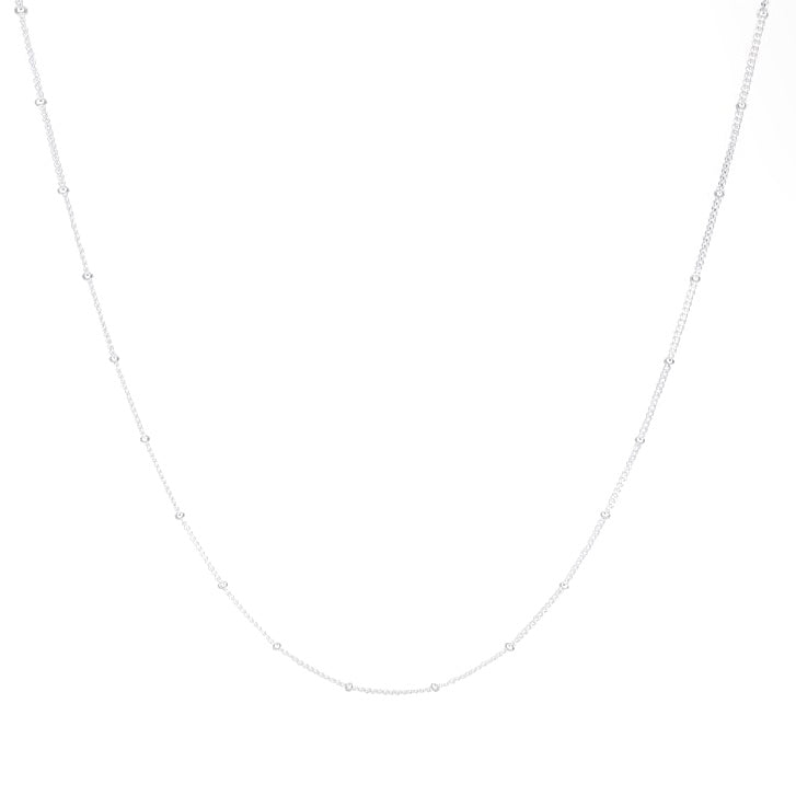 WILDTHINGS STUD CHAIN SILVER (45cm)