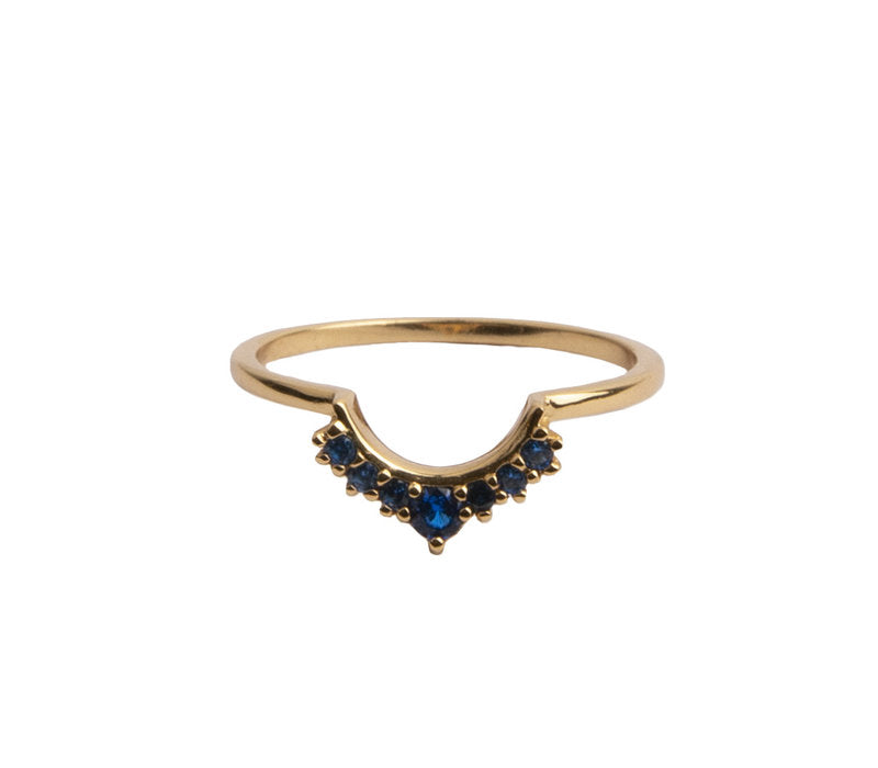 RING CROWN BLUE