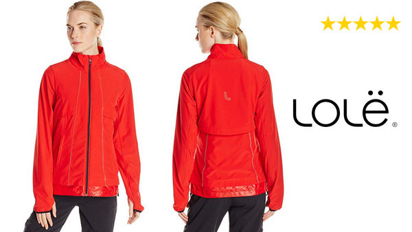Lole Women Pride Jacket MEDIUM Color Salsa - BrandsForLess.CO