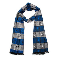 "Orgrim Winter Scarf Soft Elegant Long Fashion Wrap Scarf (Blue Plaid) 12"" x 67"" - BrandsForLess.CO"
