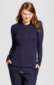 Women Cable Any Day Pullover A New Day - BrandsForLess.CO