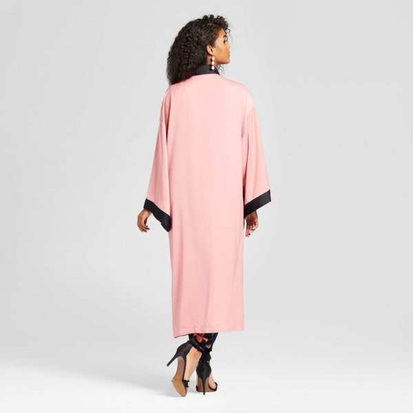 Women Silky Robe Coat & Dress - Who What Wear - BrandsForLess.CO