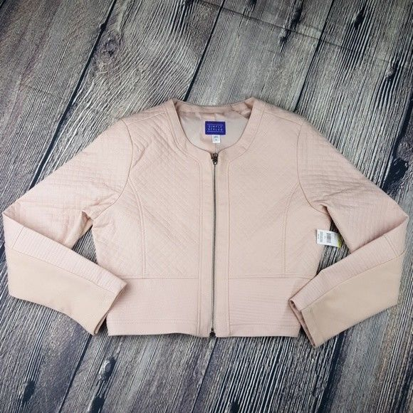 Simply Styled from Sears Missy Quilted Pale Blush LARGE - BrandsForLess.CO