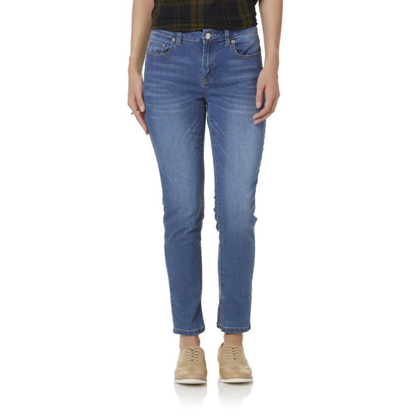 Women Girlfriend Jeans R1893 - BrandsForLess.CO