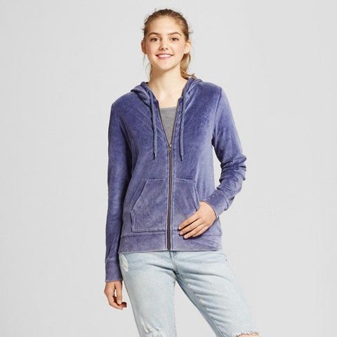 Women Velour Hoodie - Mossimo Supply Co. - BrandsForLess.CO