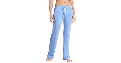 Daniel Buchler Maiyan Women Super Soft Plush Lounge Pant in XL SKY Blue - BrandsForLess.CO