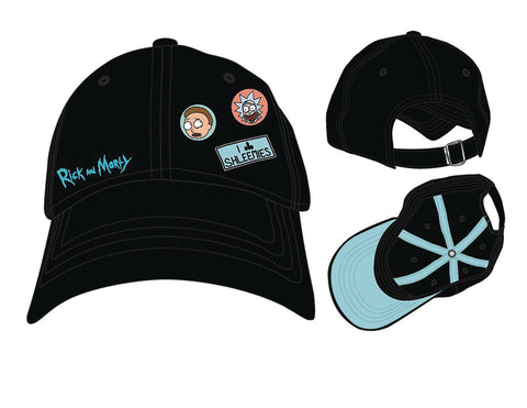 Bioworld Rick and Morty Pins Adjustable Hat Cap - BrandsForLess.CO