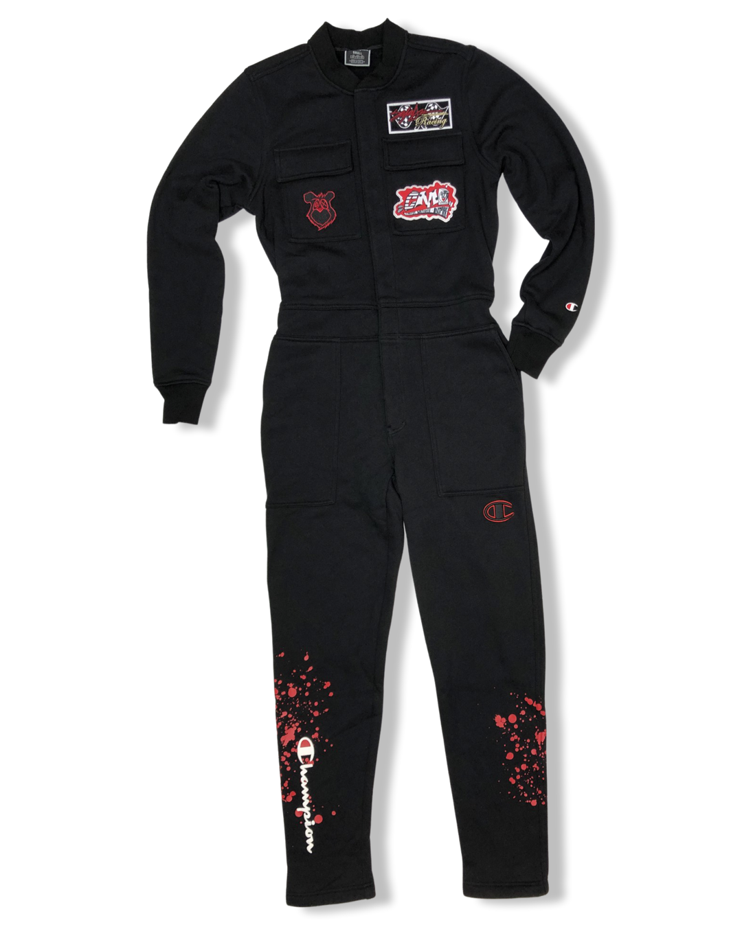 Champion X King Saladeen Money Bear Coverall Jumpsuit Black