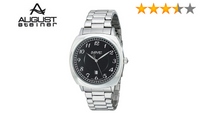 August Steiner Men AS8160 Swiss Quartz Watch Stainless Steal Bracelet - BrandsForLess.CO