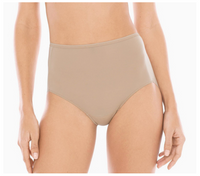 Soma Set of 4 Vanishing Edge Microfiber Retro Brief Panties Color: Nude - BrandsForLess.CO