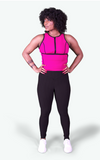 The Perfect Sculpt Sweat Vest Size: 2XL in Pink or Black - BrandsForLess.CO