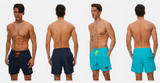 Men Swim Trunk Beach Shorts Quick Dry Beachwear Summer Sports for Swimming Surfing Running in Large or XLarge - BrandsForLess.CO