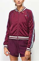 Champion Life Women Track Jacket, Dark Berry Purple - BrandsForLess.CO