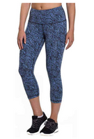 Kirkland Signature Ladies Jacquard Active Tight, SMALL - BrandsForLess.CO