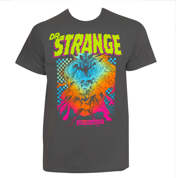 Dr. Strange Hail The Master Tee Shirt Size: X-Large - BrandsForLess.CO