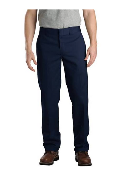Steel Grip Flame Resistant FR Clothes Work Pants 38x32 Work Uniform, Color:Navy Blue - BrandsForLess.CO