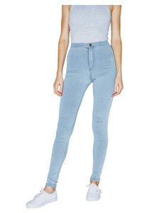 American Apparel Women The Easy Jean Color Light Wash - BrandsForLess.CO