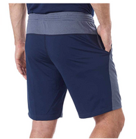 Reebok Men Speedwick Athletic Shorts Navy/Blue XLarge - BrandsForLess.CO