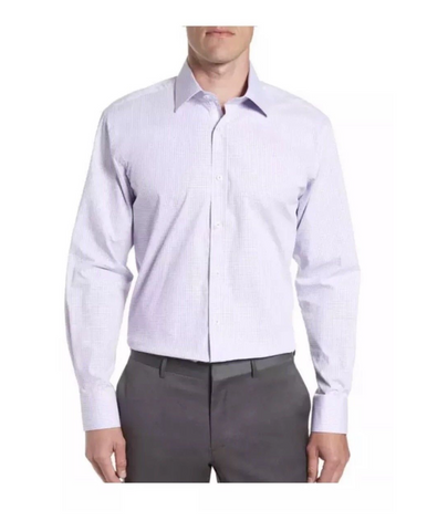 English Laundry Men Dress Shirt Stretch Cotton - BrandsForLess.CO