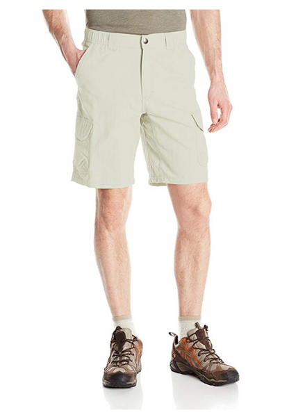 White Sierra Rocky Ridge Ii Short, Color:Sand - BrandsForLess.CO