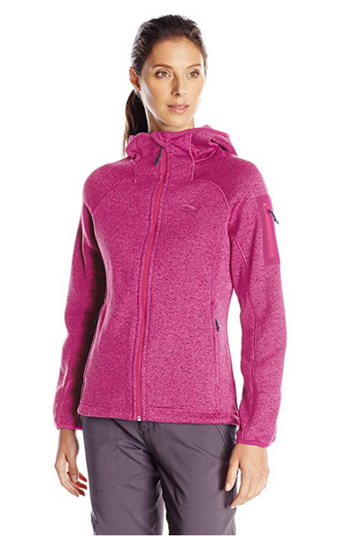 High Sierra Women Funston Full Zip Hoodie LARGE Color Razzmatazz - BrandsForLess.CO