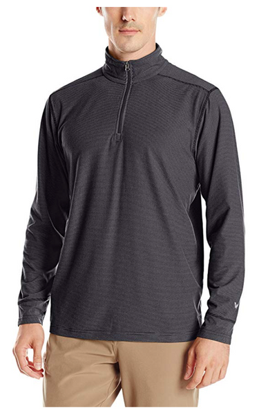 White Sierra Men Ridge Stripe 1/4 Zip Top - BrandsForLess.CO