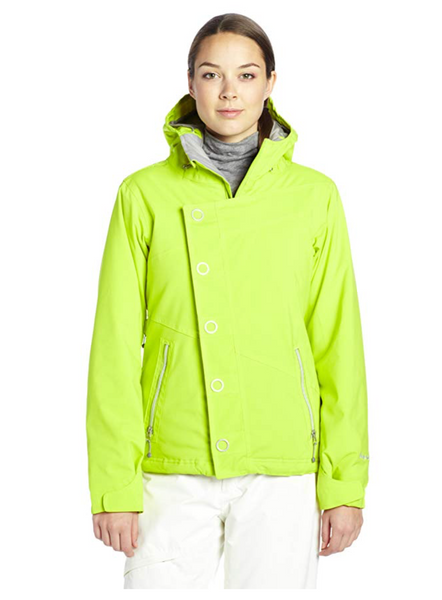 Betty Rides Women Dynasty Nikki Jacket Color Lime - BrandsForLess.CO