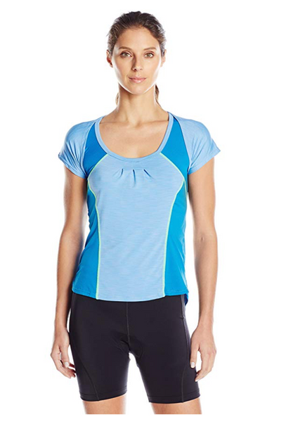 Moxie Cycling Women Century Wrap Tee Jersey - BrandsForLess.CO