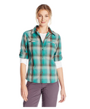 White Sierra Women Everyday Plaid Shirt - BrandsForLess.CO