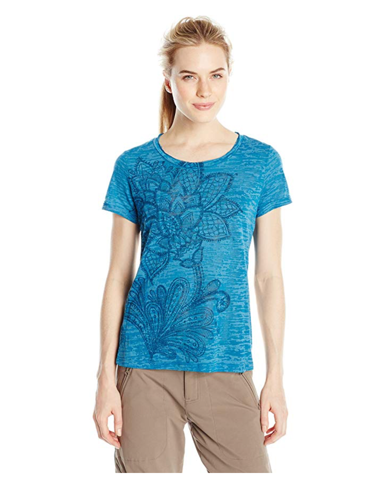 White Sierra Womens Shiva Tee - BrandsForLess.CO