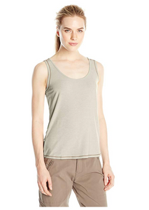 White Sierra Kalahari Ii Odor Free Sleeveless Tank - BrandsForLess.CO