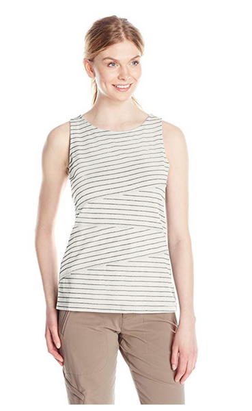 White Sierra Women Shadow Tank Top - BrandsForLess.CO