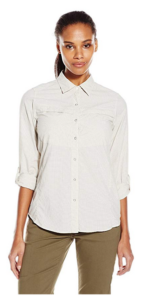 ExOfficio Women Halo Long Sleeve Shirt - BrandsForLess.CO