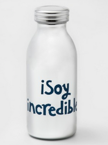 11.5oz Stainless Steel iSoy Incredible Kids Water Bottle Silver/Blue - Pillowfort™ - BrandsForLess.CO