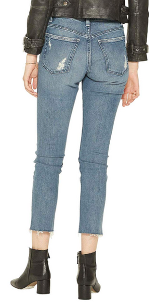 Silver Jeans Co. Women Frisco Vintage High Rise Straight Leg Jeans - BrandsForLess.CO