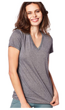 Under Armour Women Threadborne Train Twist V Neck Heather - BrandsForLess.CO