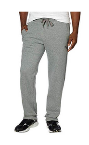 PUMA Men's Fleece Lined Sweat Pants, Grey, XXL - BrandsForLess.CO