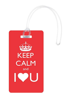 Rikki Knight Keep Calm Design Flexi Bag or Travel Tag - BrandsForLess.CO