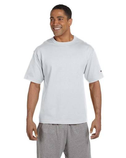 Champion LIFE Men Heritage Tee Shirt in Silver Grey, Sizes: 2XL, 3XL - BrandsForLess.CO