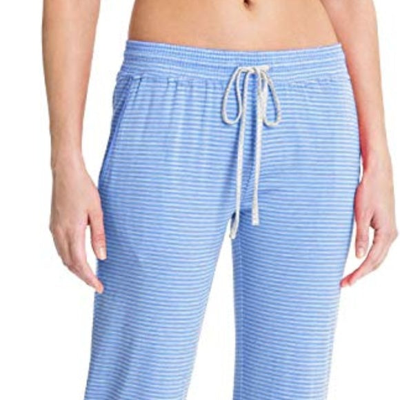 Daniel Buchler Maiyan Women Super Soft Plush Lounge Pant in SKY Blue - BrandsForLess.CO
