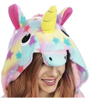 Emolly Fashion Adult Unicorn Animal Onesie Costume Pajamas for Adults and Teens