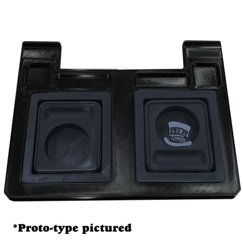 HDPE Premium Double Cup & Collapsible Cupholder