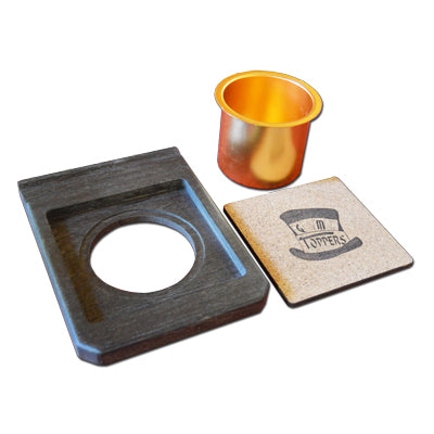 """Lux"" Single Cup Holder and Component Tray"