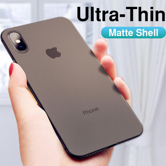 Luxury Shockproof Ultra Thin Soft Silicon Phone Cases For iPhone X XS Max XR 8 7plus